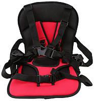 Детское бескаркасное авто кресло Multi-function car cushion авто кресло, Красный