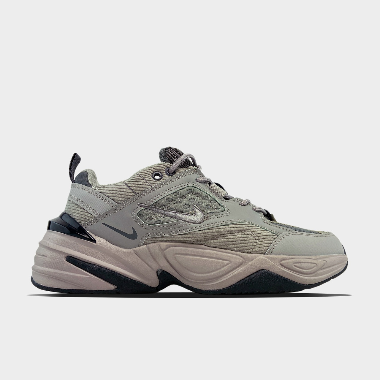 Женские кроссовки Nike M2K Tekno Linen Gray