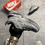 Женские кроссовки Nike M2K Tekno Linen Gray, фото 4