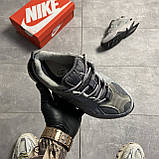 Женские кроссовки Nike M2K Tekno Linen Gray, фото 5