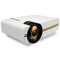 Портативный проектор FHD YG-400 LED PRO, с функцией Air display, 1800 Лм