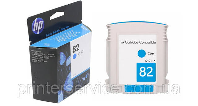 Картридж HP 82 для плоттера HP Designjet 500/800 (C4911A)