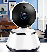 Настольная поворотная IP камера Smart Net Easy QC6 Wifi, камера с динамиком, микрофоном, ночное видение