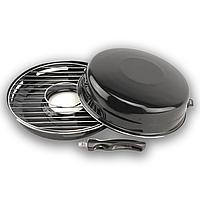 Сковорода гриль антипригарная ГРИЛЬ- ГАЗ 32 см, черная