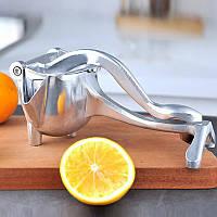 Ручная соковыжималка пресс с зажимом Juicer Kitchen Pro, носик для разлива