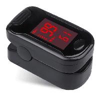 Портативный пульсоксиметр на палец Pulse oximeter bl-230 на батарейках. Проверка насыщения кислородом крови