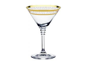 Бокалы для мартини bohemia olivia золото 210 мл 6 шт Богемия Оливия