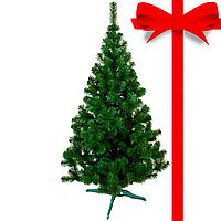 Рождественская Ель 2,2 метра высота Лесная. Искусственная новогодняя елка 2,2 метра, зеленая