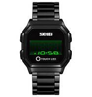 Led часы  Skmei 1650 - Future Led Black ( 5 bar), фото 1