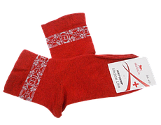 Шкарпетки без гумки Medical Line 36-40 червоні
