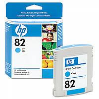 Картридж HP 82 для плоттера HP Designjet 500/800, голубой, 69 мл (C4911A), фото 1