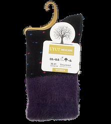 Шкарпетки бавовна з опушкою розмір 36-41 чорні