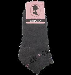 Шкарпетки теплі короткі 2221 37-42 сірі