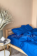 Комплект постельного белья синий