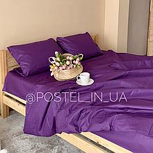 Комплект постельного белья фиолетовый