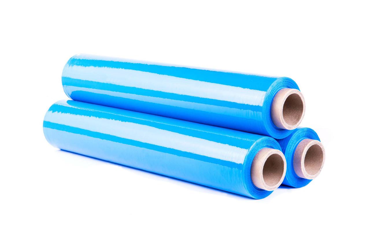 Стрейч пленка синяя 23мкм х 500мм х 2,4кг х 250м