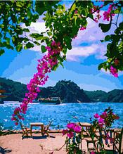 Картина по номерам На побережье