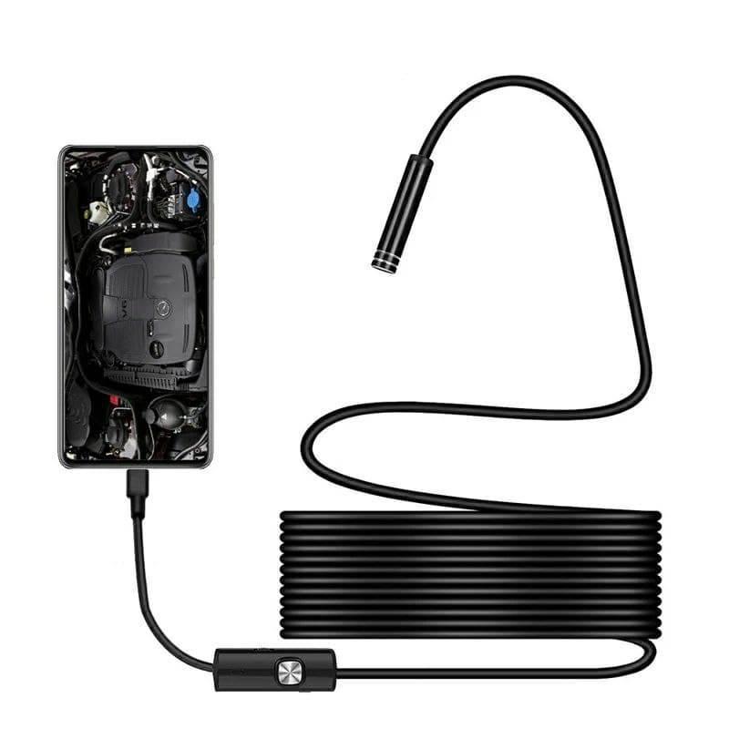 Эндоскоп c камерой: Ø5,5 мм 1.5 метра. Бороскоп