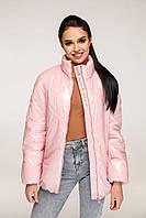 Куртка В-1267 Лак, розовый