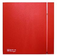 Малошумный вентилятор Soler & Palau SILENT-100 CRZ RED DESIGN 4C