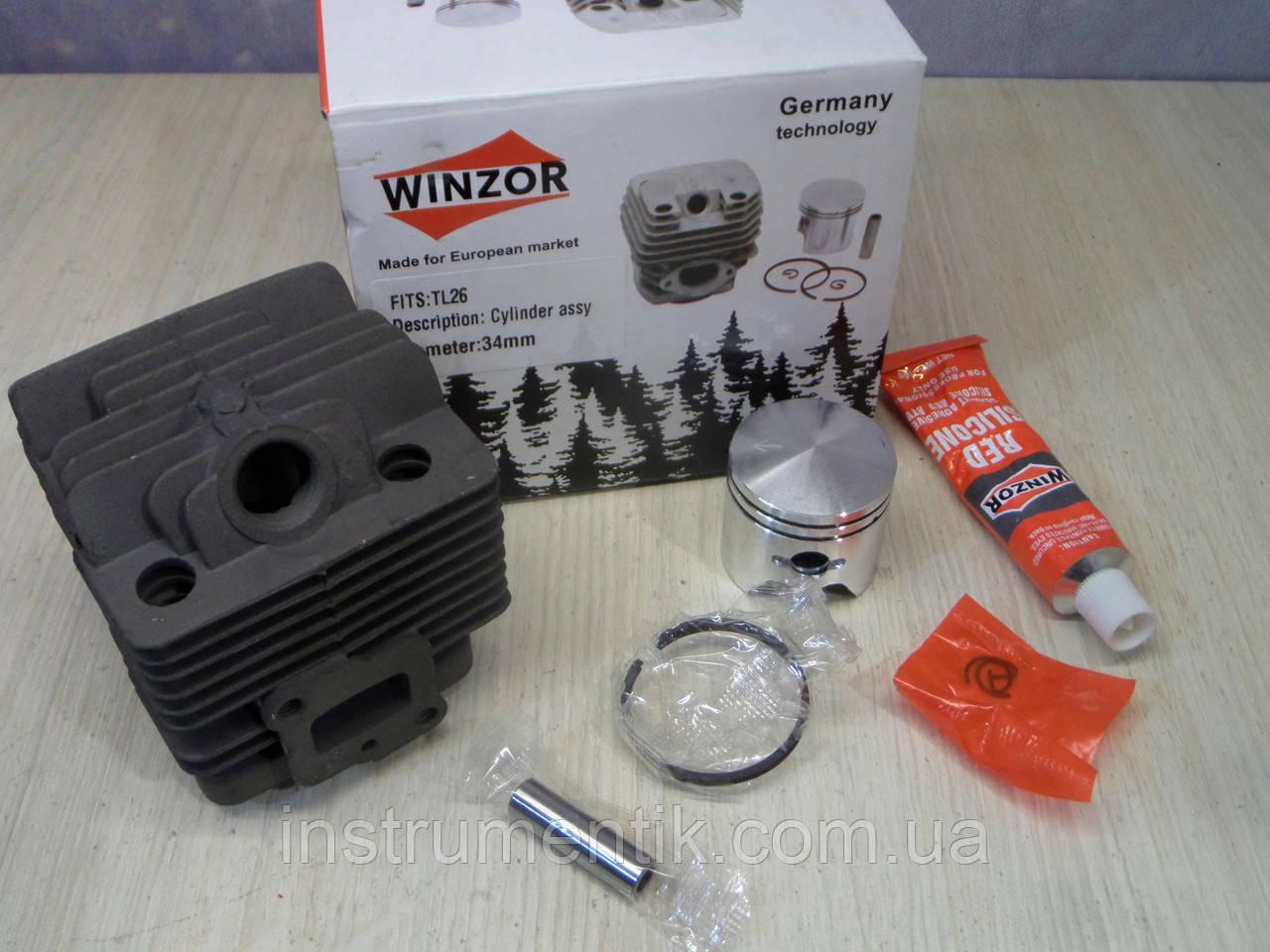 Циліндр і поршень Winzor для мотокіс 34 мм