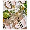 Тарілка обідня кругла IKEA DINERA 26 см рожева кам'яна кераміка ІКЕА ДІНЕРА, фото 5