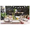 Тарелка круглая обеденная IKEA DINERA 26 см розовая каменная керамика ИКЕА ДІНЕРА, фото 6