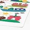 Дитяча серветка-підставка під столові прилади 40x30 см IKEA MATVRÅ фрукти і овочі ІКЕА МАТВРО, фото 2