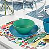 Дитяча серветка-підставка під столові прилади 40x30 см IKEA MATVRÅ фрукти і овочі ІКЕА МАТВРО, фото 3