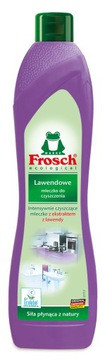 Кремообразное чистящее средство для посуды и поверхностей Лаванда Frosch Lawendowy 500 мл.