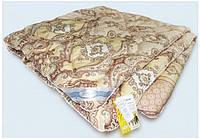 Одеяло зимнее из овечьей шерсти (чехол сатин) 172*205 , фото 1