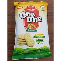 Рисовое печенье соленое One-One, 150г. (Вьетнам) со вкусом говядины