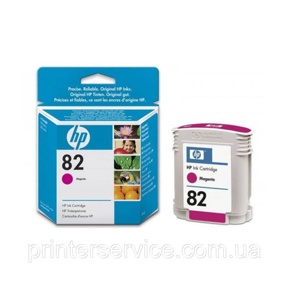 Картридж HP 82 для плоттера HP Designjet 500/800, пурпурный, 69 мл (C4912A)