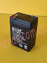 Акумулятор 6v 4,5 ah 500 грам