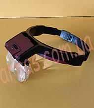 Бинокуляр очки бинокулярные со светодиодной подсветкой MG81001B