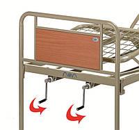 Кровать металлическая функциональная трехсекционная