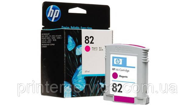 Картридж HP 82 magenta для плоттера HP Designjet 500/800 (C4912A)