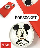 Попсокет POPSOCKETS міккі маус / Універсальний тримач-підставка для телефону