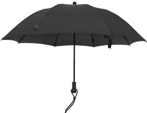Мужской прочный  механический зонт-трость EuroSCHIRM Swing Liteflex W2L69120/SU17748 черный
