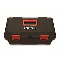 Ящик для инструмента 2 секции (пластик) TBAE0301 TOPTUL