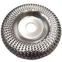 Шліфувальний, обдирний диск (фреза) Альфа диск по дереву для болгарки 125 мм