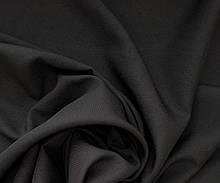 Тканина габардин чорний