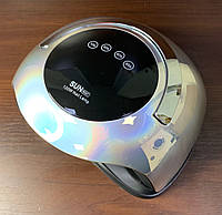 Лампа для маникюра гель лаком SUN BQ-5T Silver, 120 Вт