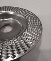 Шліфувальний, обдирний диск прямий (фреза) Альфа диск по дереву для болгарки 125 мм