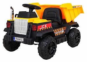 Дитячий електромобіль, вантажівка - самоскид JCX З електропідйомником