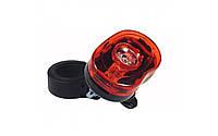 Стоп, ліхтар задній JY-006 на 1 LED кристал 0,5 Wtt і 2 LED червоних світлодіода