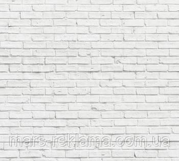 Виниловый фон (фотофон) студийный для предметной съемки. Белый кирпич