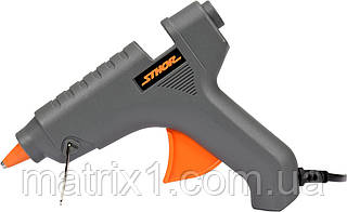 Пістолет клейовий під клей 11 мм (два стрижня в комплекті) 40 Вт STHOR