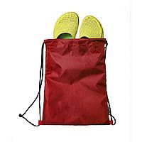 Мешок / рюкзак / чехол для сменной обуви и других аксессуаров красный