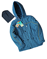 Демисезонная куртка для мальчика подростка бренд RM kids+Шапка в Подарок,см. замеры в ПОЛНОМ ОПИСАНИИ товара
